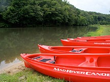 Campers are able to Participate in Canoe Activities on the Leaf River or at Camp Kupugani's Lake