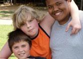 boys camp friends