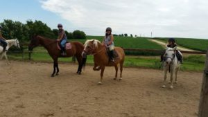 Horse Riding in the Midwest at Camp Kupugani