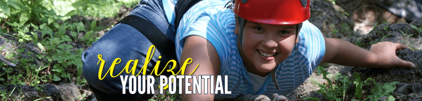 Realize your potential at Camp Kupugani
