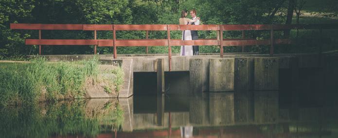 Wedding photo at Camp Kupugani
