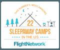 22 Sleepaway Camps Logo