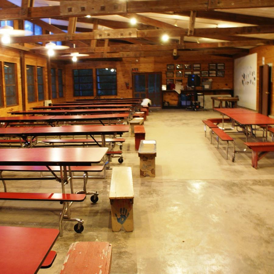 Camp Kupugani Dining Hall