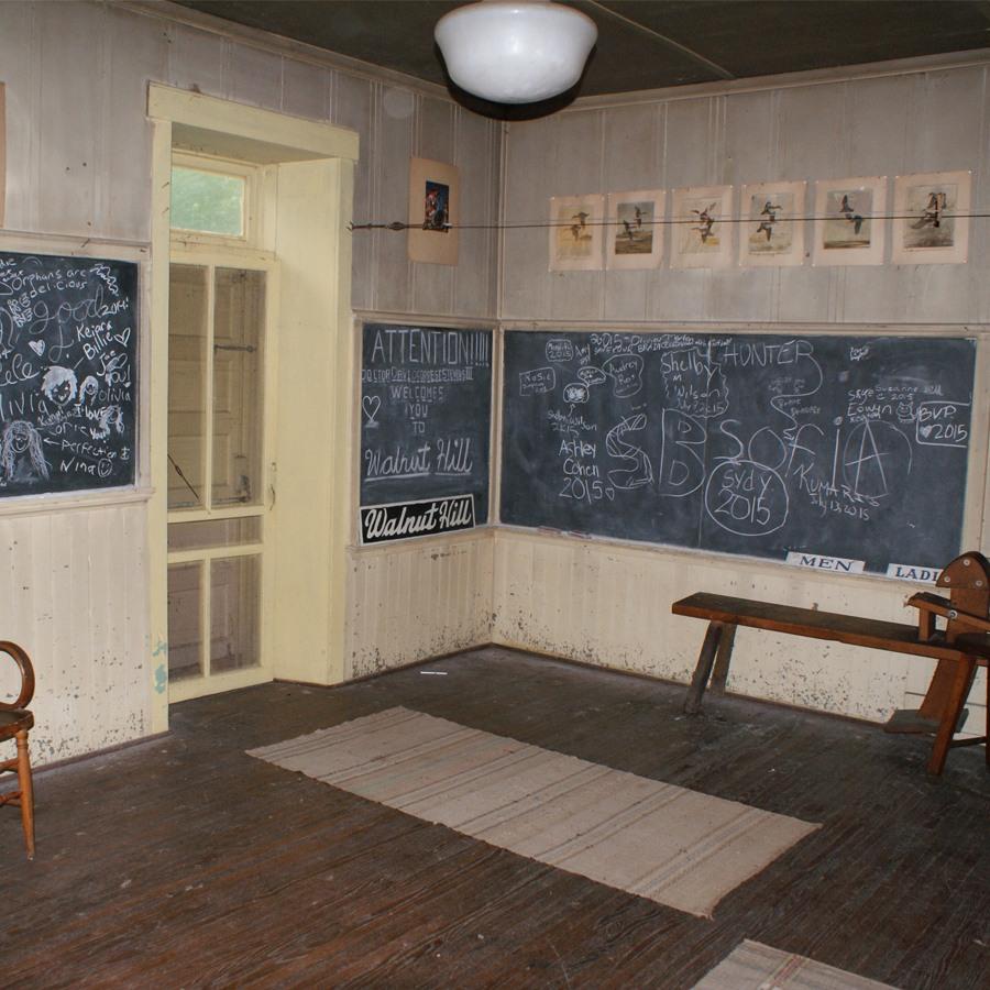 Old Schoolhouse at Camp Kupugani